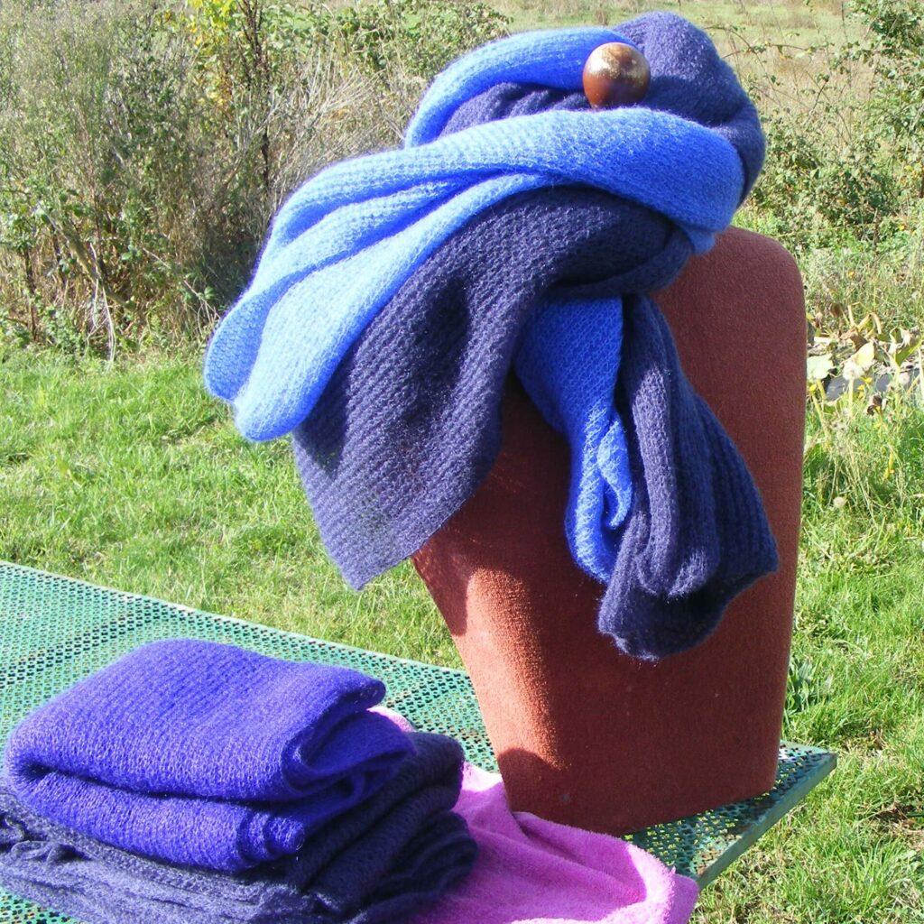 shawls mohair