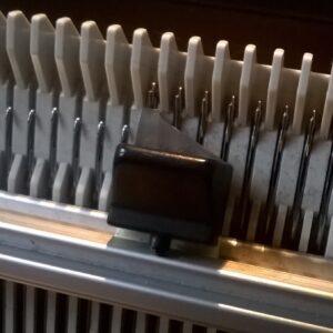 knitting machine mechanism